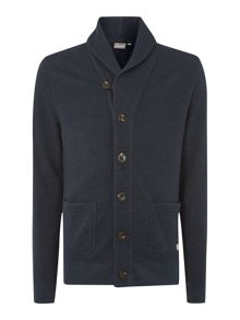 hume shawl neck cardigan