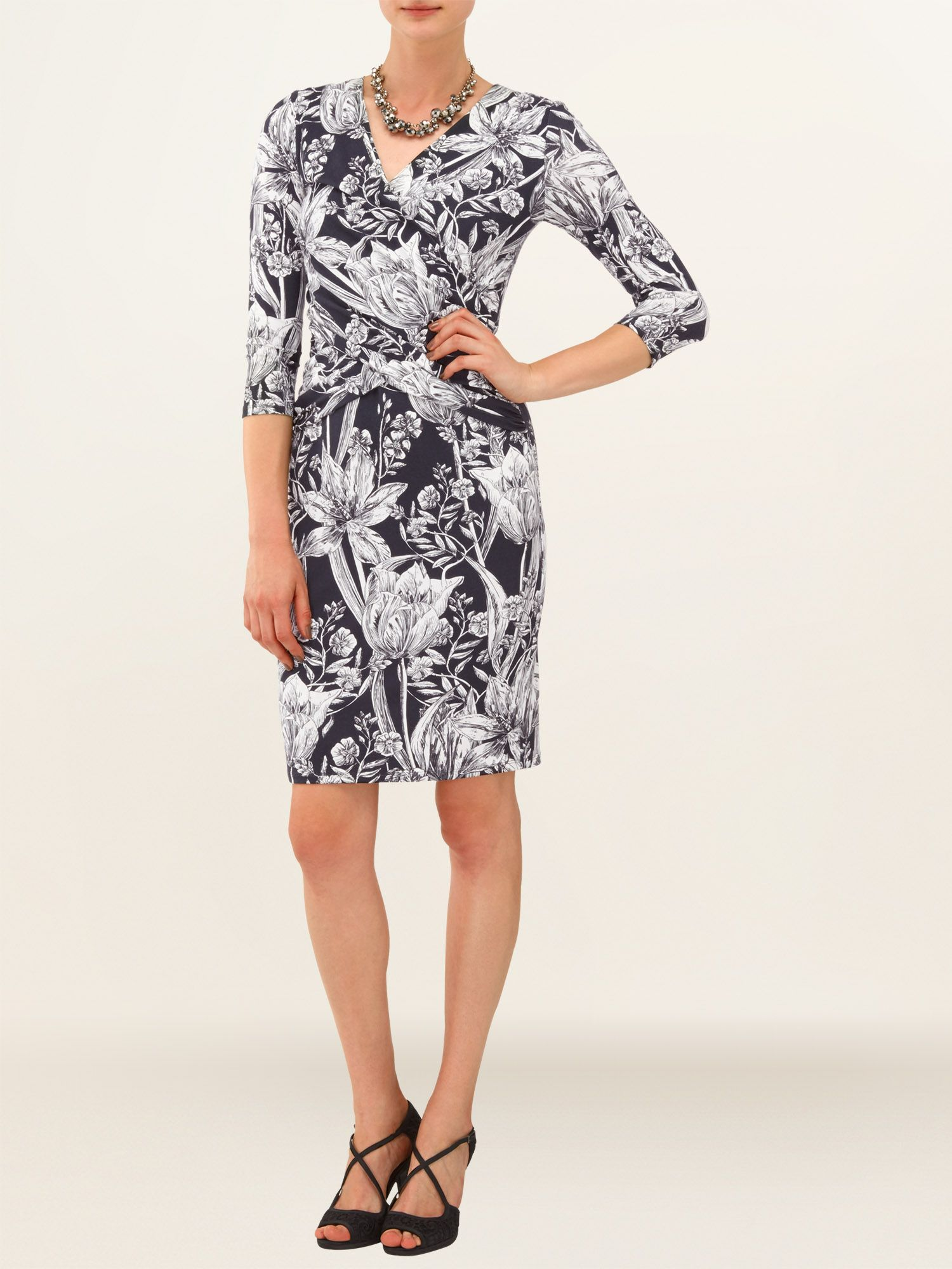 Berkley wrap dress