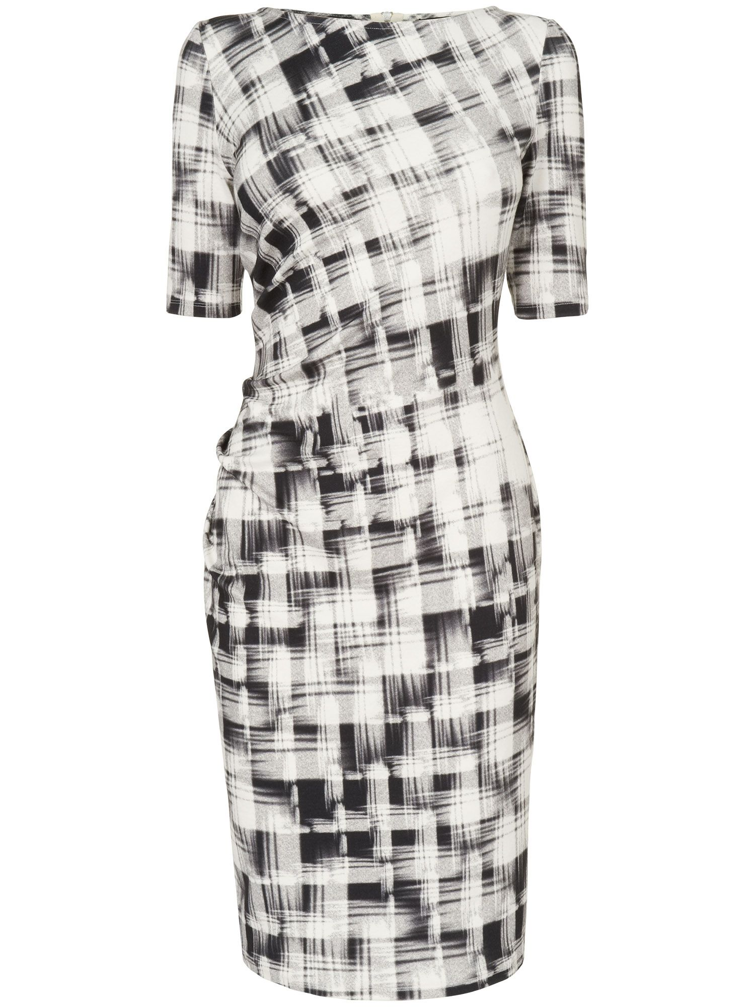 Caley check dress