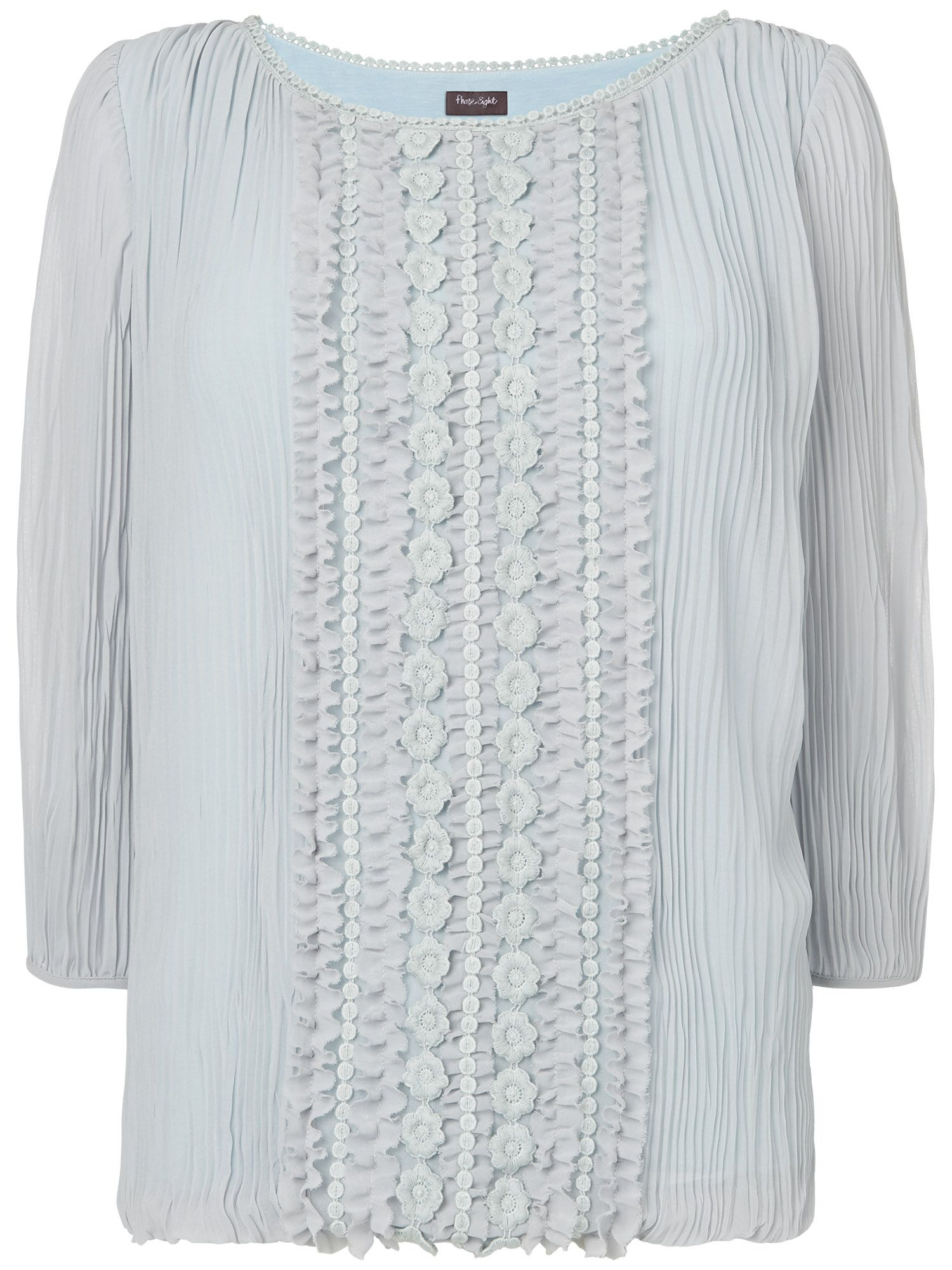 Siobhan pleat blouse