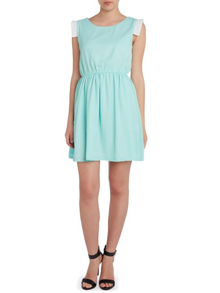 Cutie Waisted pastel dress