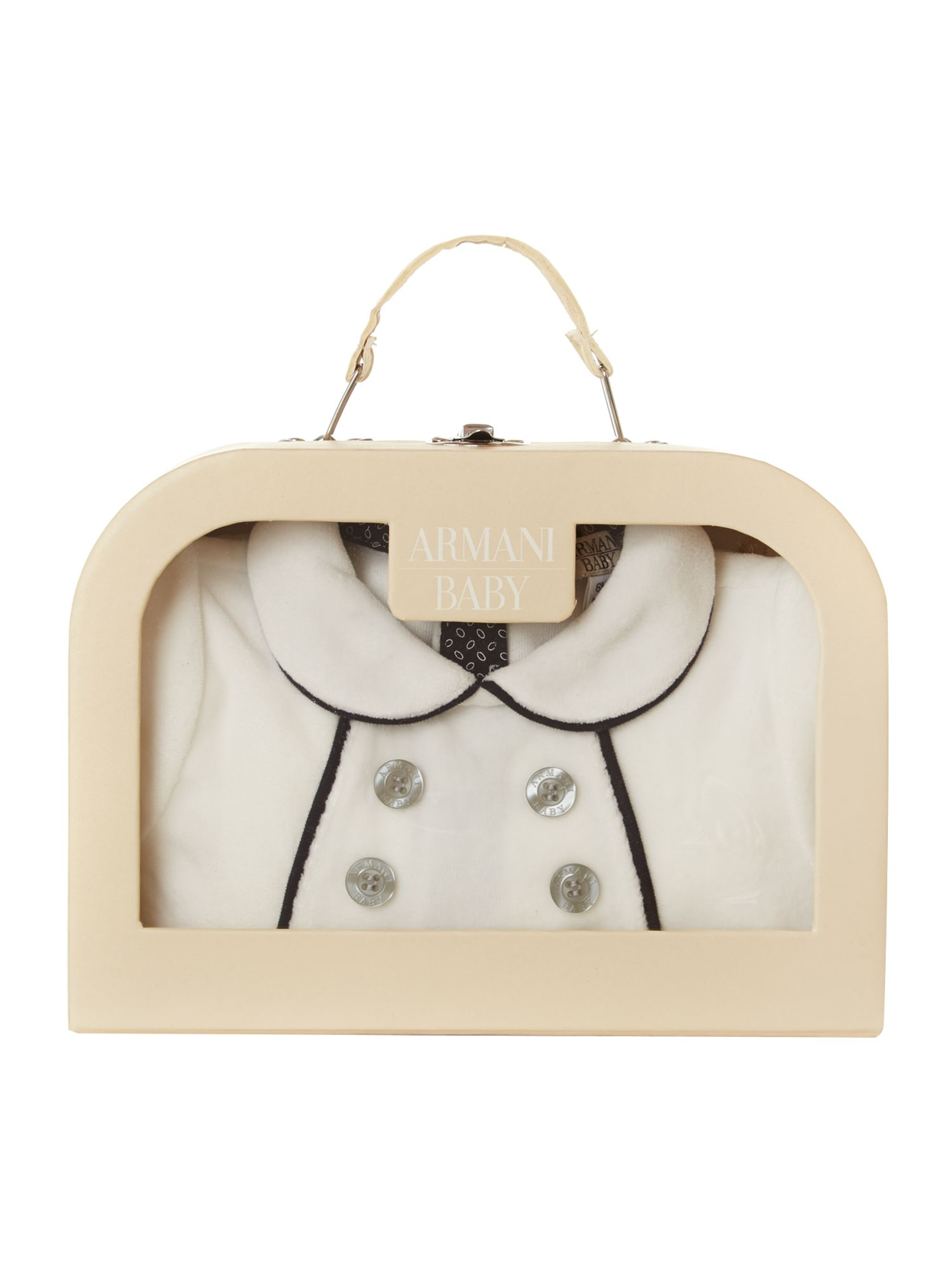 Babys all-in-one with hat giftbox