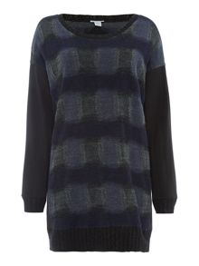 Marella Action printed long sleeved jumper