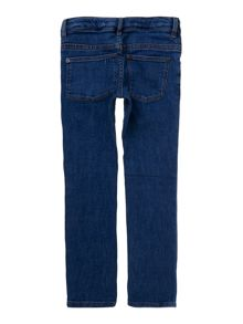 Girls mid wash jean