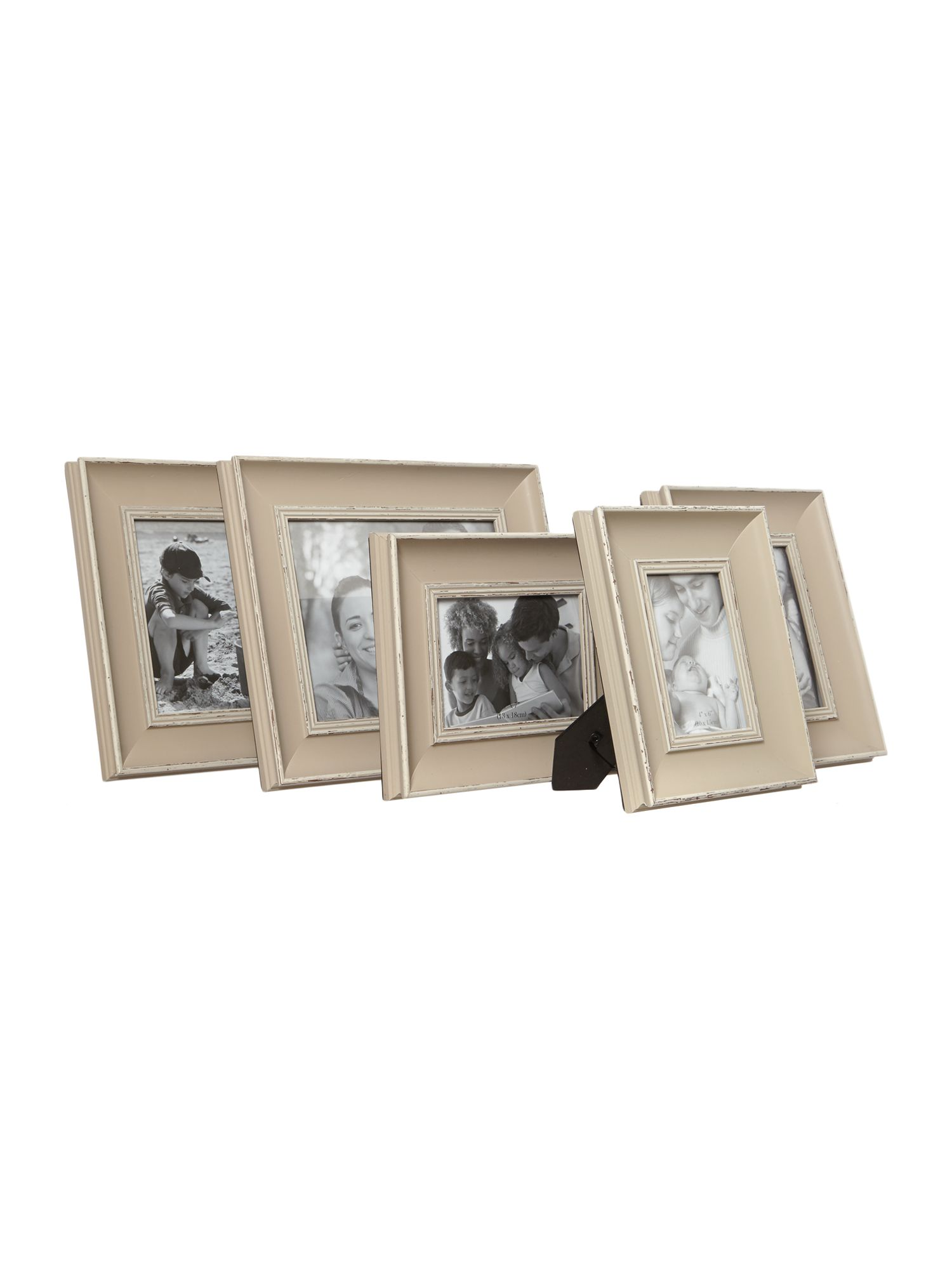 Set of 5 Edgewood Scatter Frames