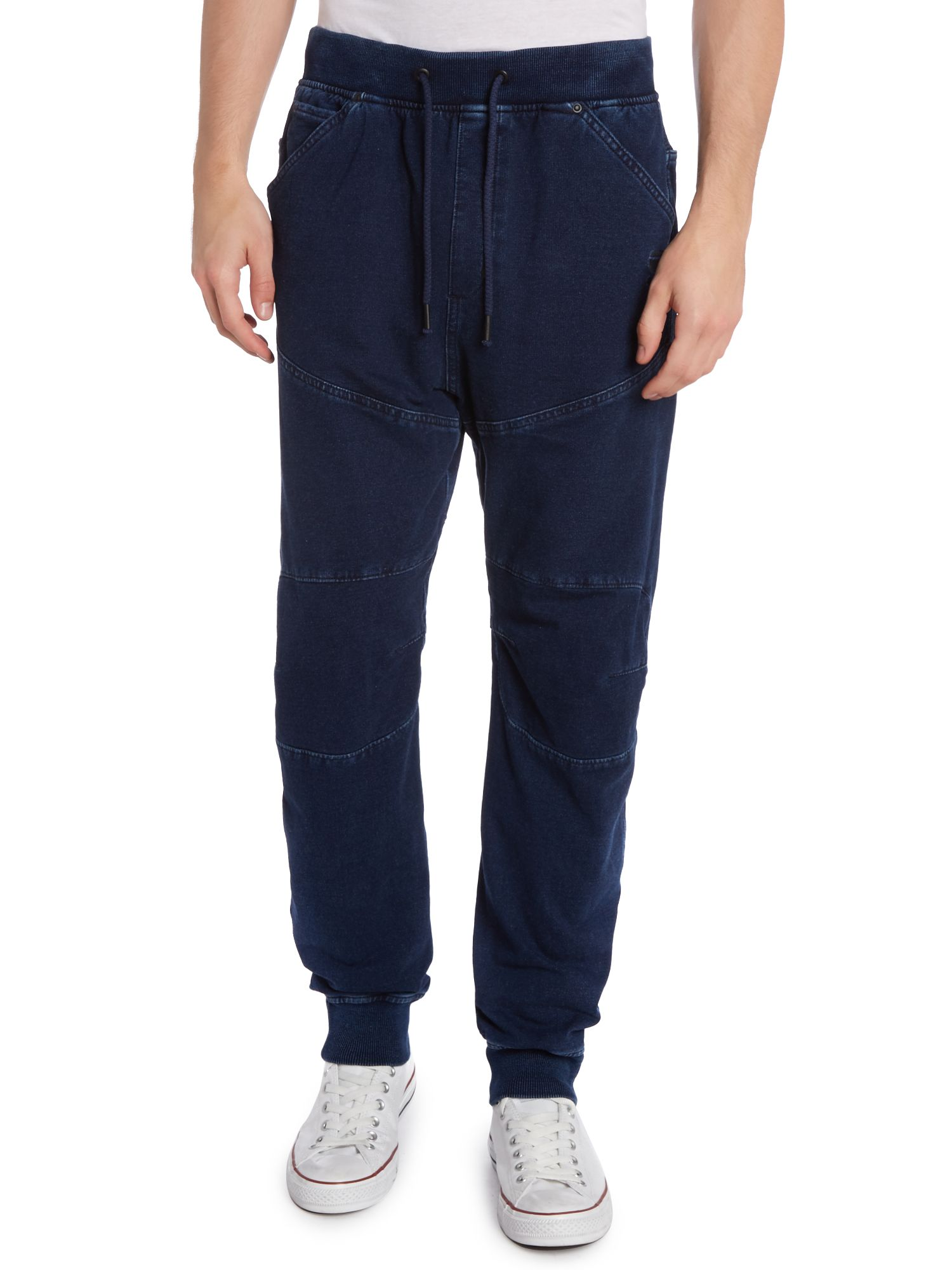 Jean jogging bottoms