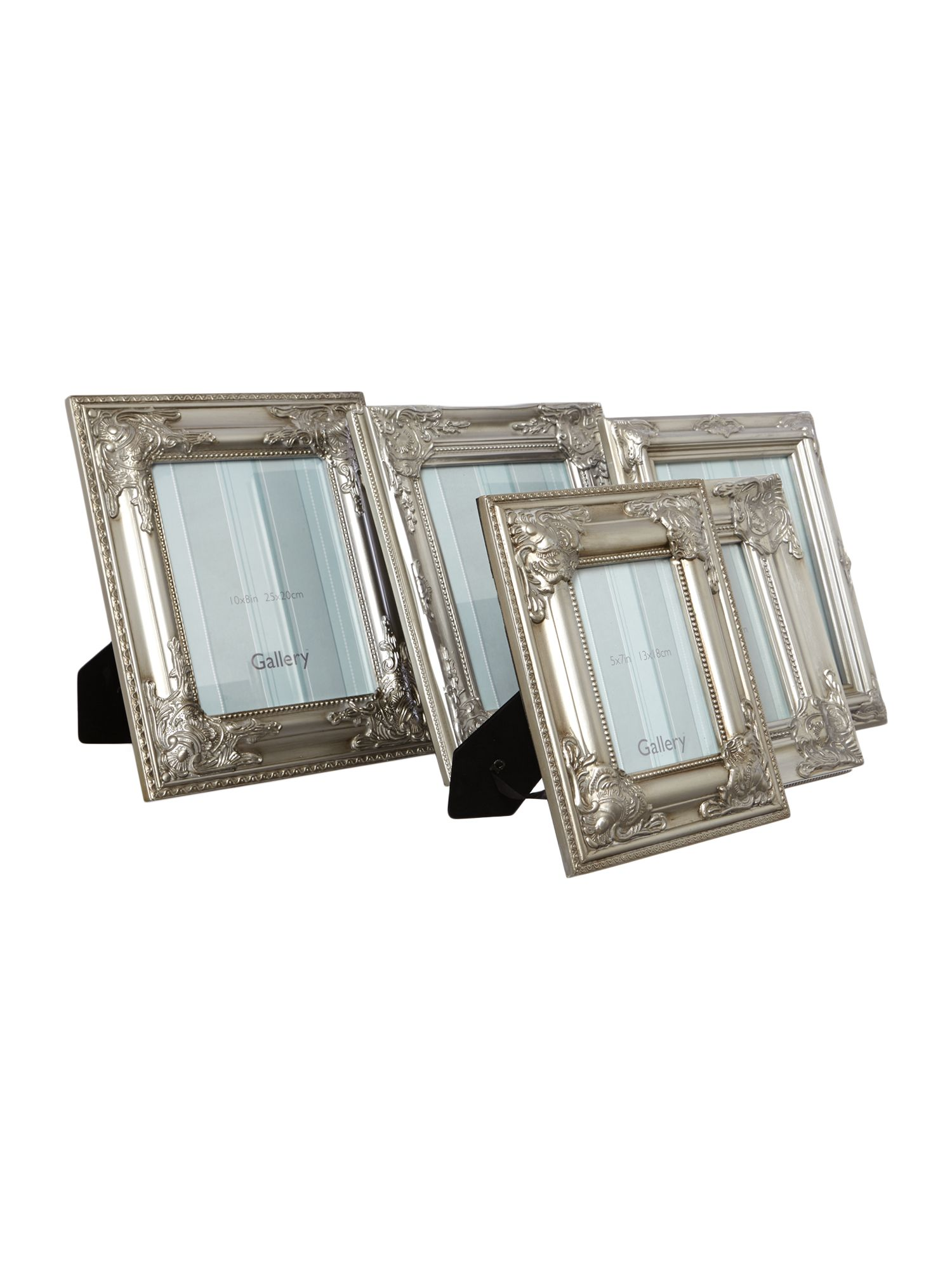 Set of 5 Lansdale Scatter Frames Silver