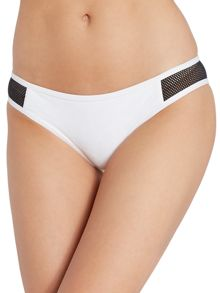 Meshed hipster brief