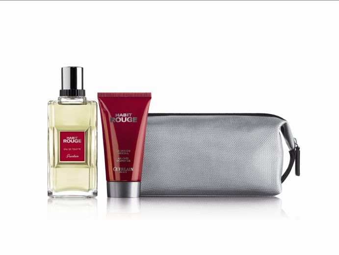 Habit Rouge Eau de Toilette Gift Set 100ml