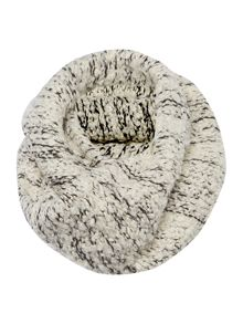 Boucle textured snood