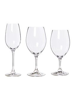 Ouverture set of 12 red white & champagne