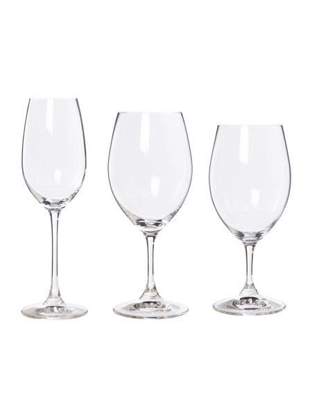 Riedel Ouverture set of 12 red white & champagne glasses