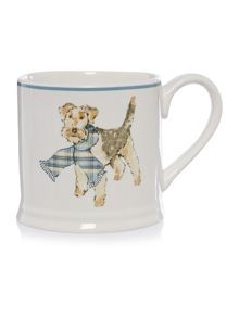 Dickins & Jones Airedale mug