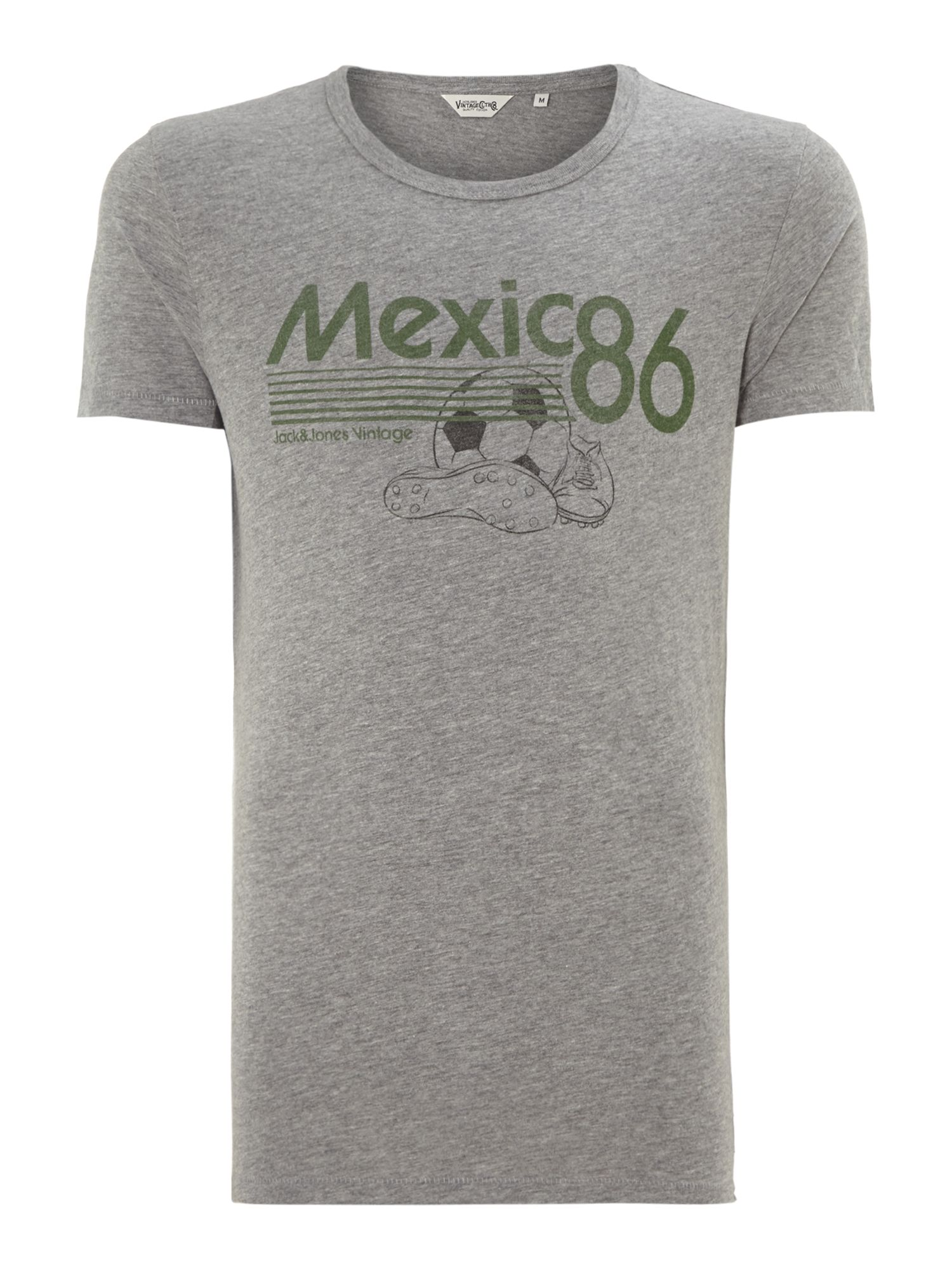 Retro football t-shirt
