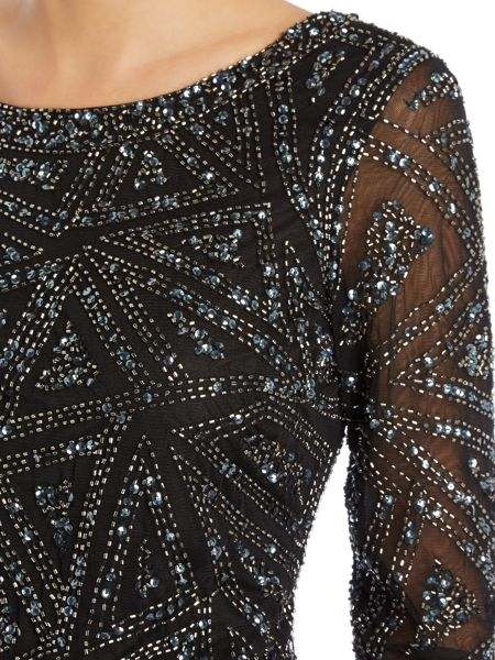 Untold All over sequin shift dress