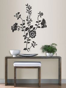 Brocade wall stickers