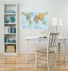 World wall sticker