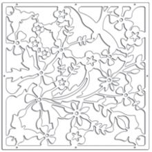 Sactuary white decorative panel