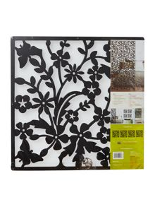 Sactuary Black decorative panel