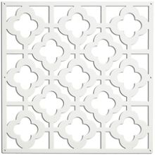 Honey comb decorative panel