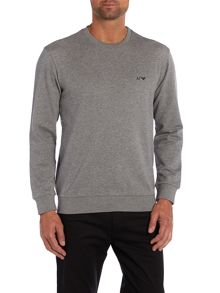 Long sleeve crew neck sweatshirt