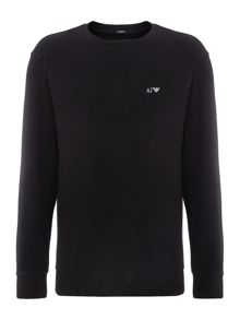 Armani Jeans Long sleeve crew neck sweatshirt