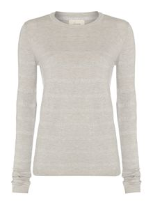 Linea Weekend Stripe lurex jumper