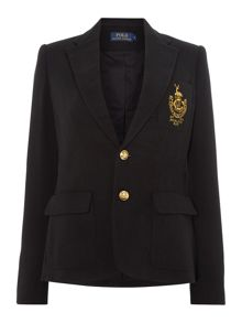 Polo Ralph Lauren Long sleeved crested blazer