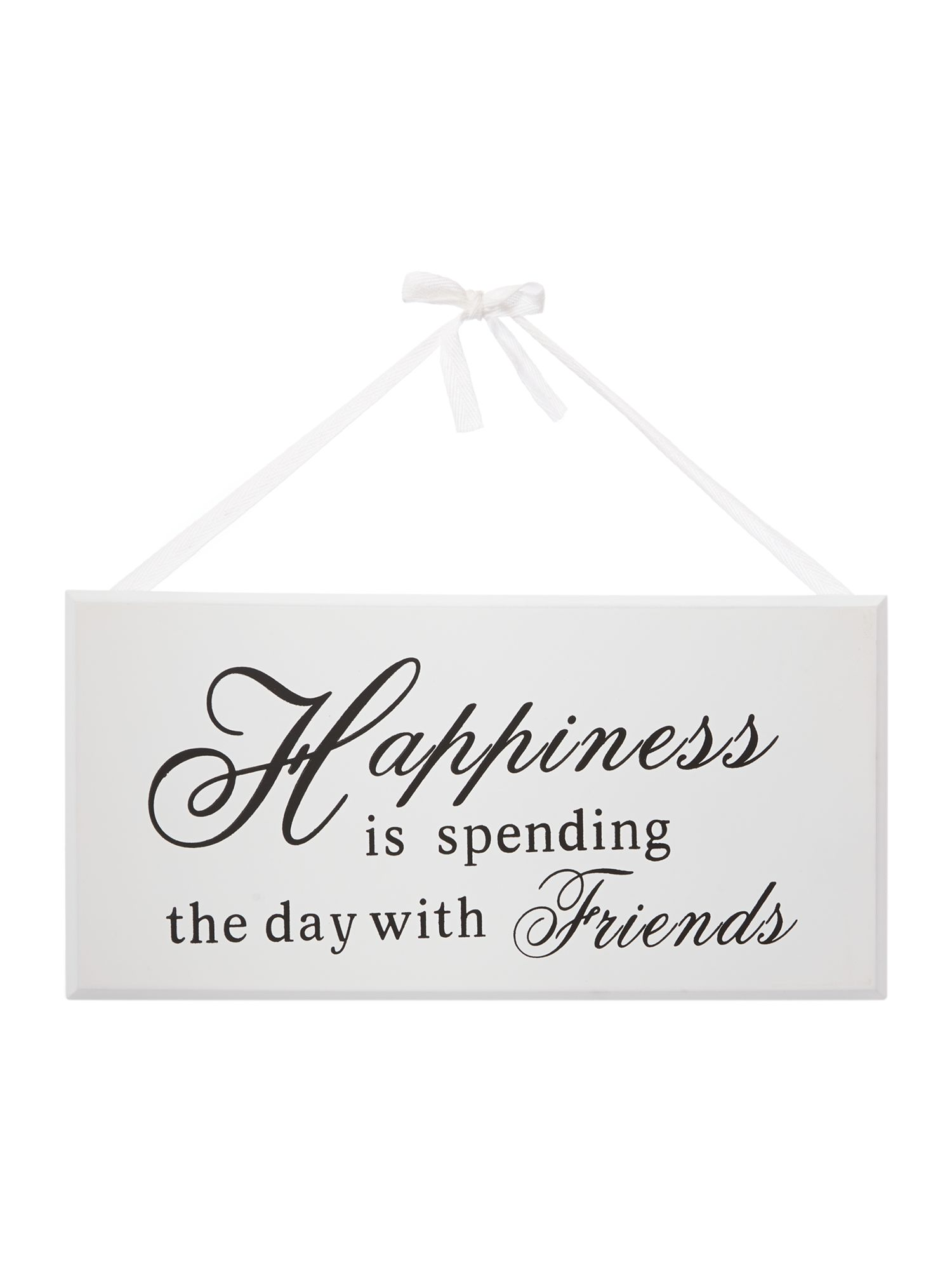 Family Happiness Sign
