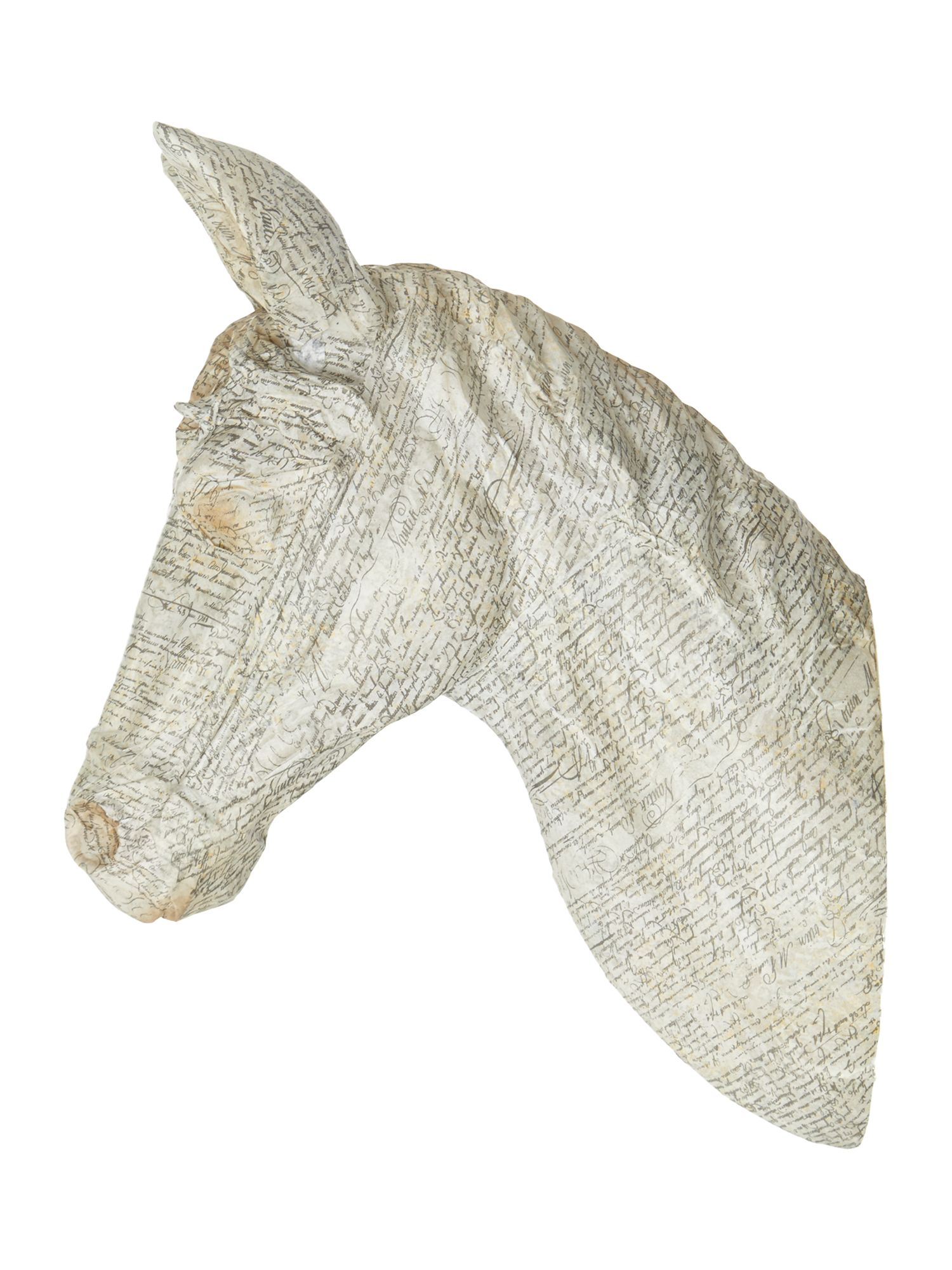 Large Hanging Horse Wall Décor