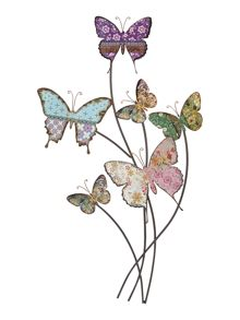 Six Butterflies Wall Art