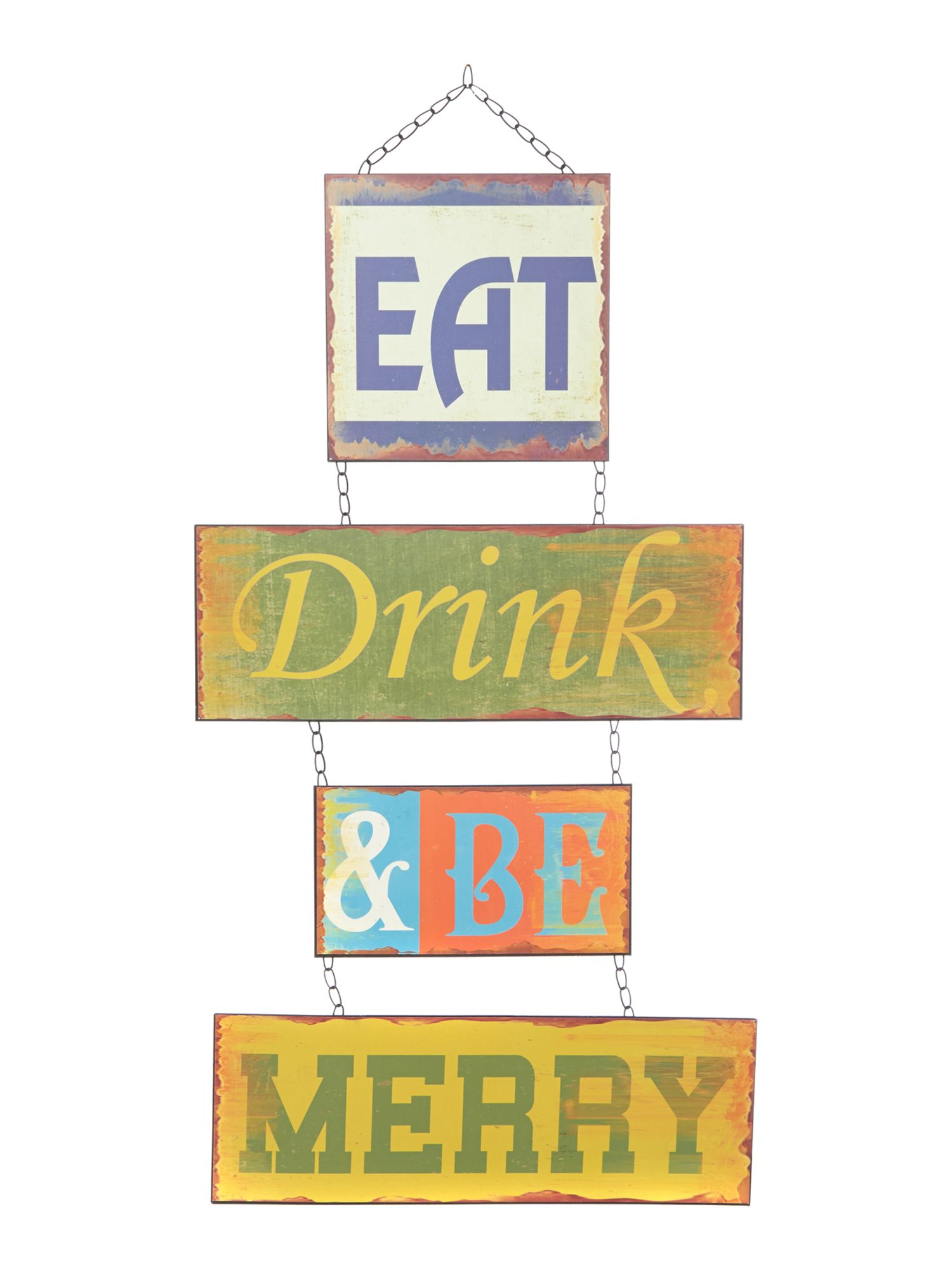 Eat, Drink And Be Merry Wall Art