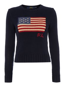 Betsey long sleeve hooded jumper