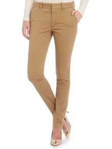 skinny fit chino trousers