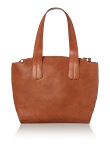 Celina tan tote bag