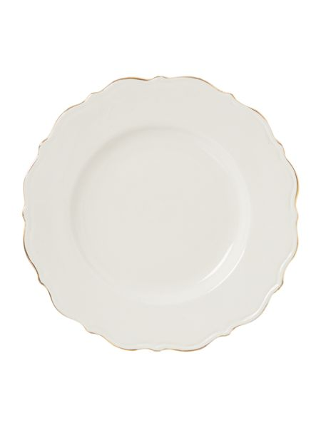 Shabby Chic Brompton gold side plate