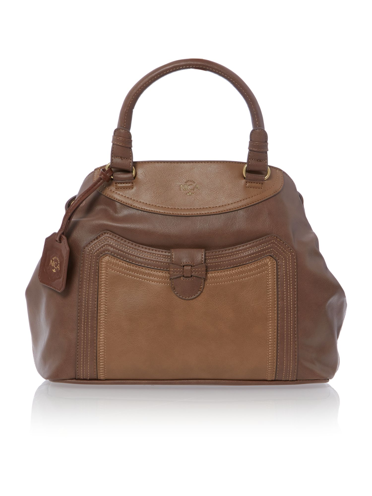 Natalie neutral tote bag