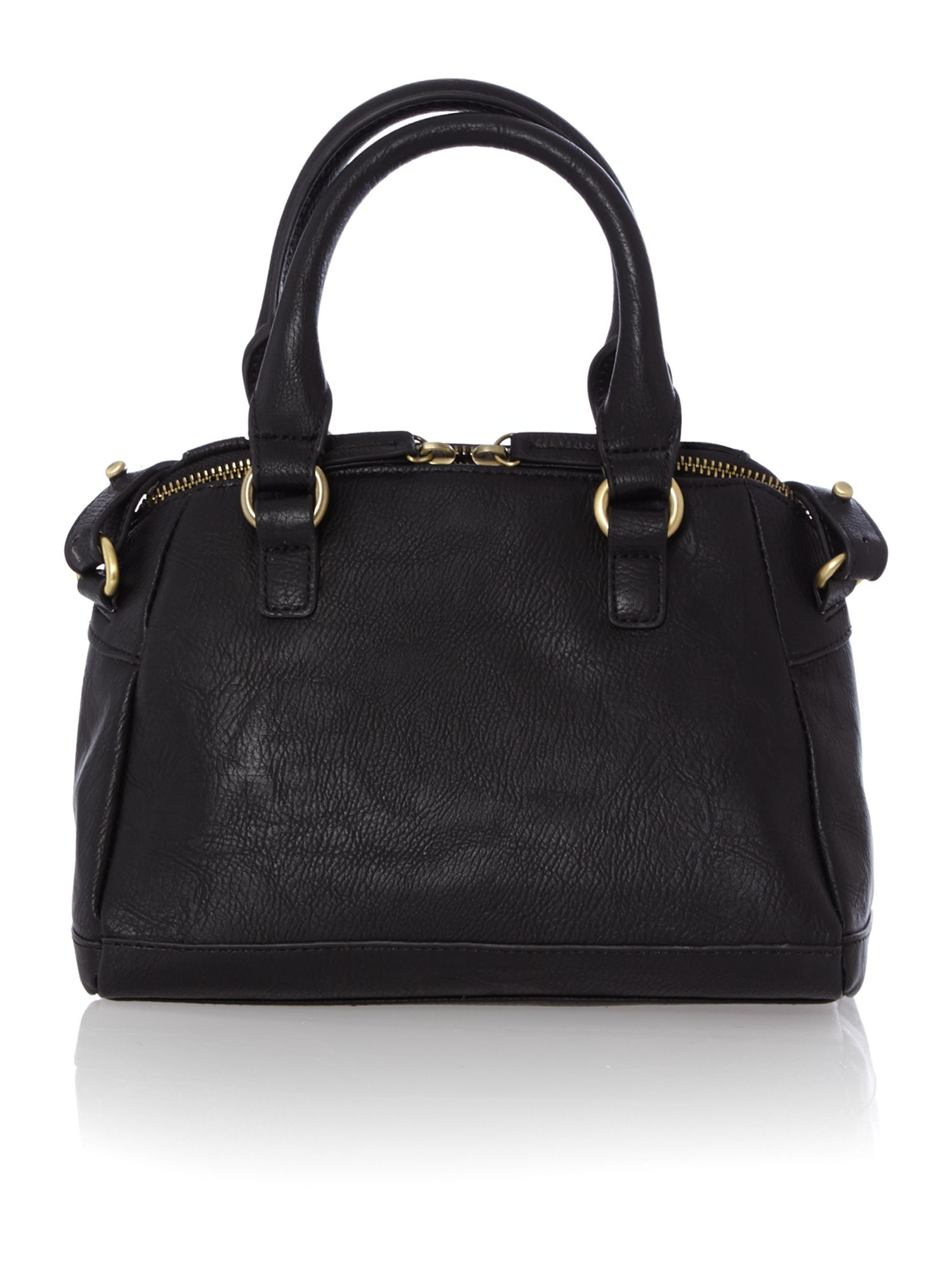 Lizzy black pocket cross body bag