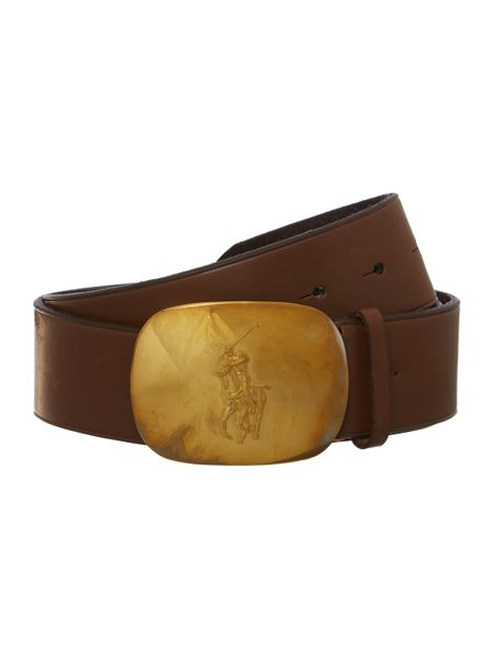 Polo Ralph Lauren Leather belt with logo buckle