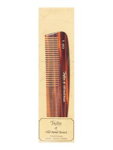 Small travel comb