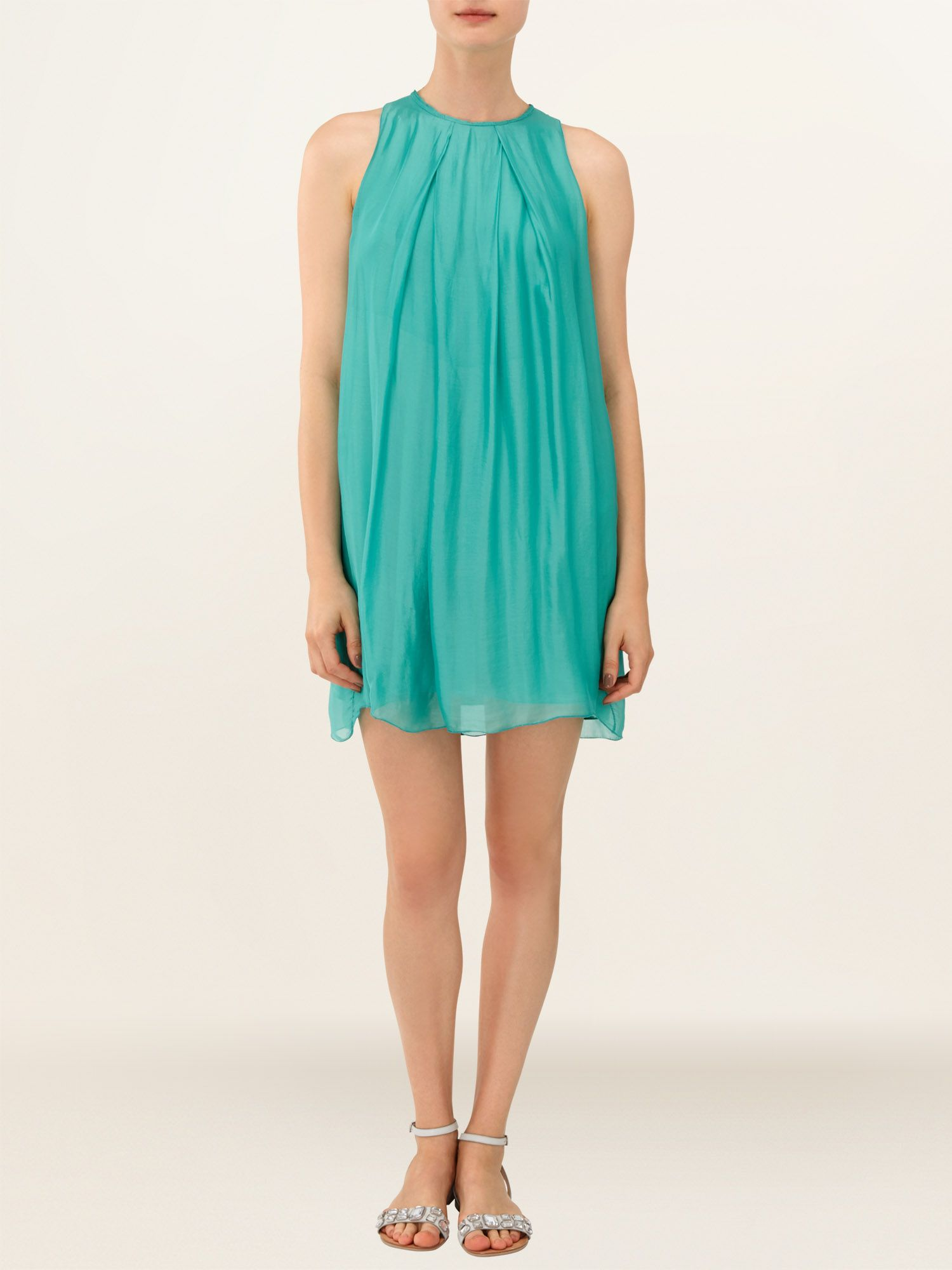 Jessa silk dress