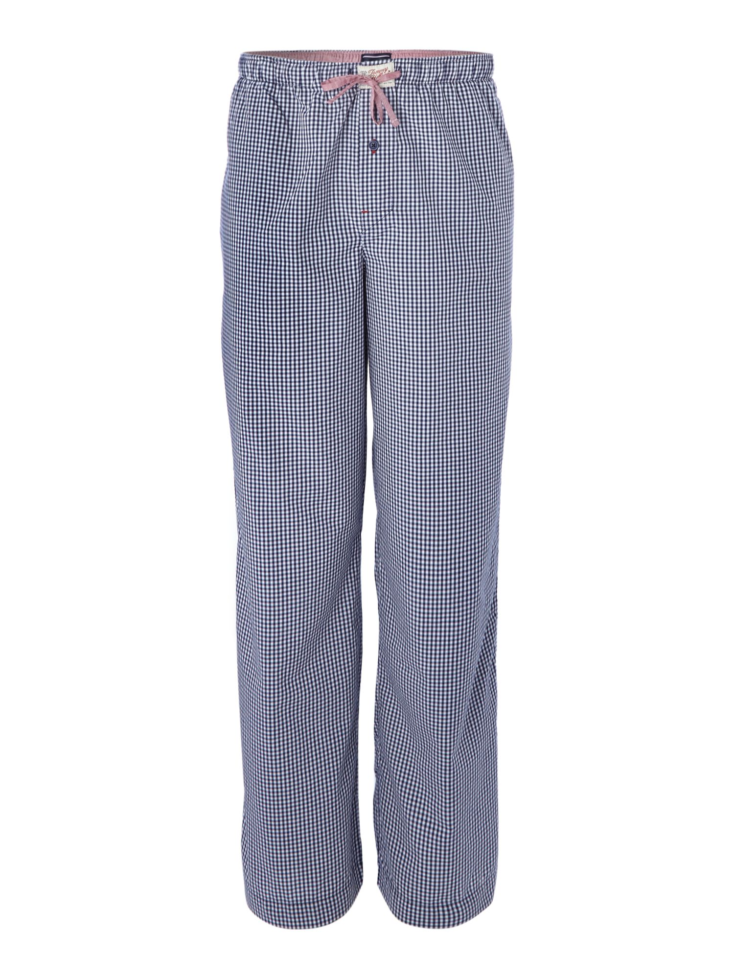 Woven gingham pant
