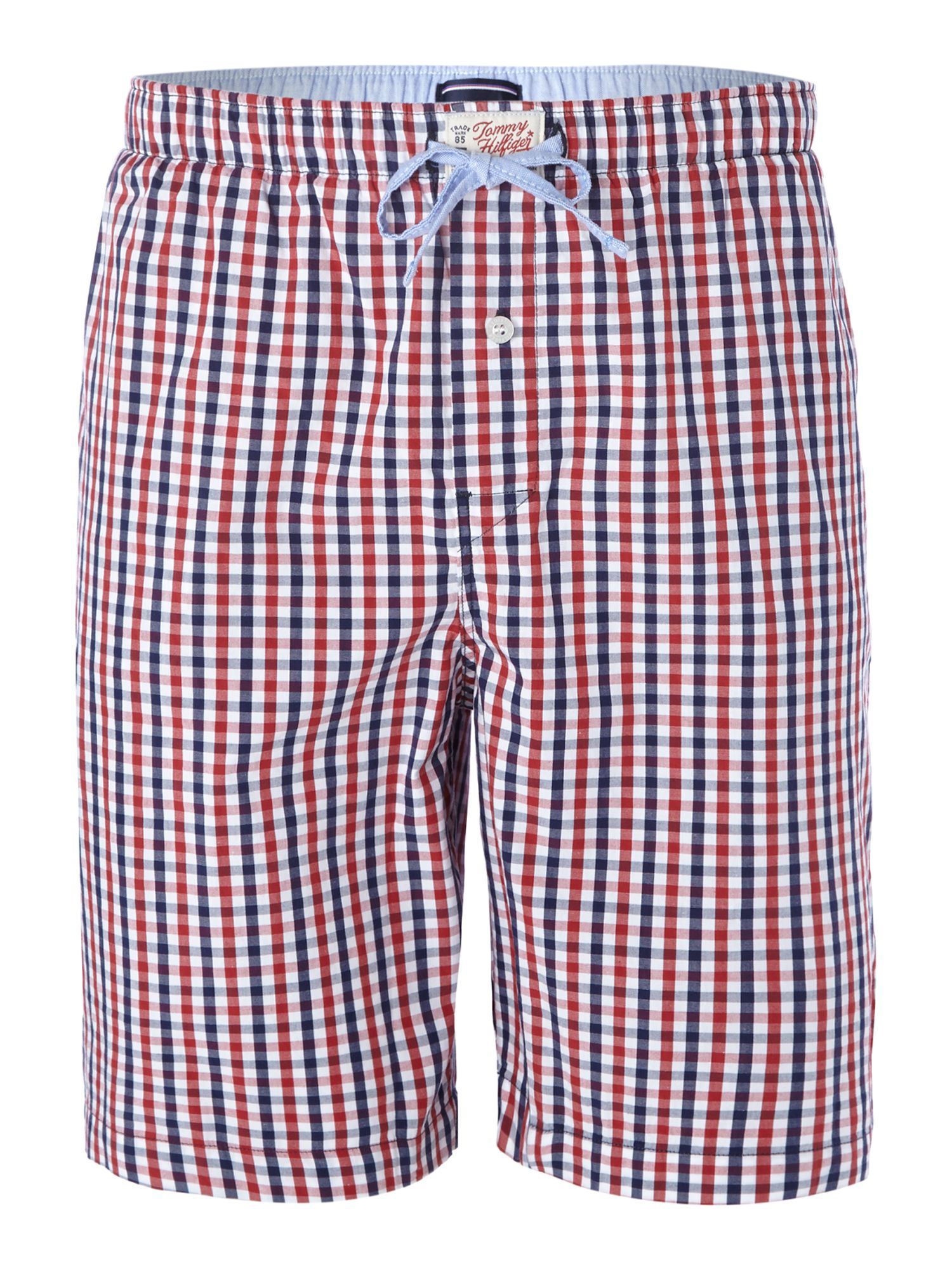 Gingham print sleep short