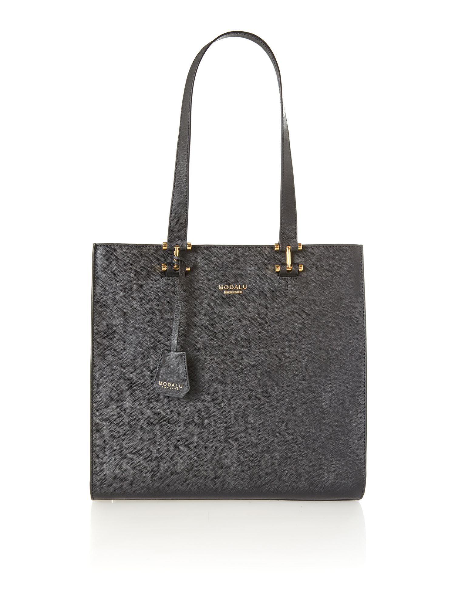 Cara black tote bag