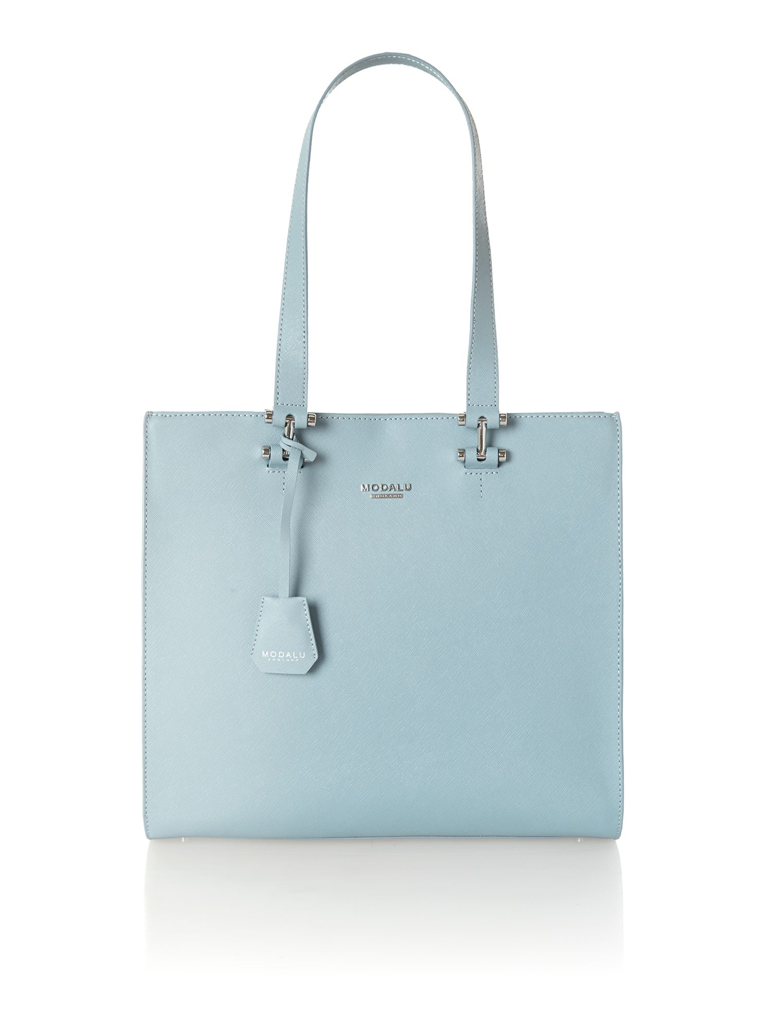 Cara blue tote bag