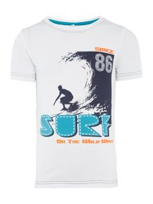 Boys surf graphic t-shirt