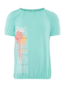 Girls shine graphic t-shirt