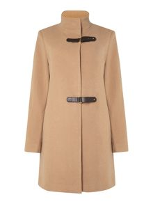 Lauren Ralph Lauren Buckle collar wool coat
