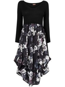 Abingdon print hook up dress