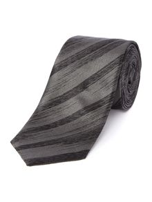 Shadow stripe slim tie
